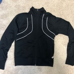 black women's nike jacket